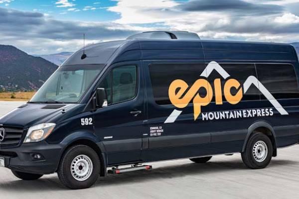 Van for local trasportation