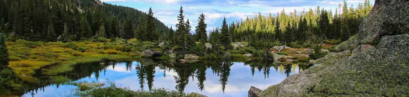 A lake in Vail Valley, Colorado